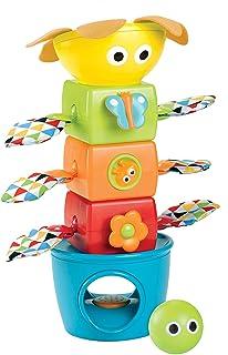 Yookidoo Stack Flap N Tumble Game, Multicolor