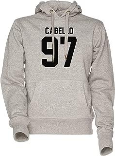#FIFTHHARMONY, Camila Cabello Unisexo Hombre Mujer Sudadera con Capucha Gris Men's Women's Hoodie Sweatshirt Grey