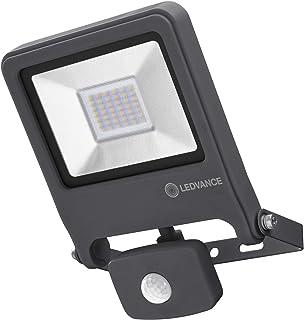 LEDVANCE Naświetlacz LED: for ściana, ENDURA® FLOOD Sensor Ciepły biały / 30 W, 220…240 V, kąt rozsyłu światła: 120°, Ciep...