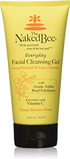 The Naked Bee Orange Blossom Honey Everyday Facial Cleansing Gel, 5.5 Oz