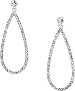 Everyday Crystal Posted Teardrop Earrings