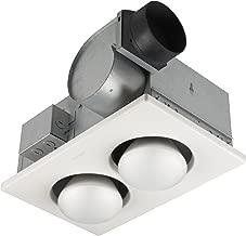 nutone h965 ceiling light exhaust heater