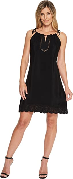 Hale Bob The Butterfly Effect Embossed Crepe Dress