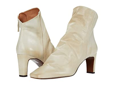Free People Cybill Heel Boot (Cream) Women