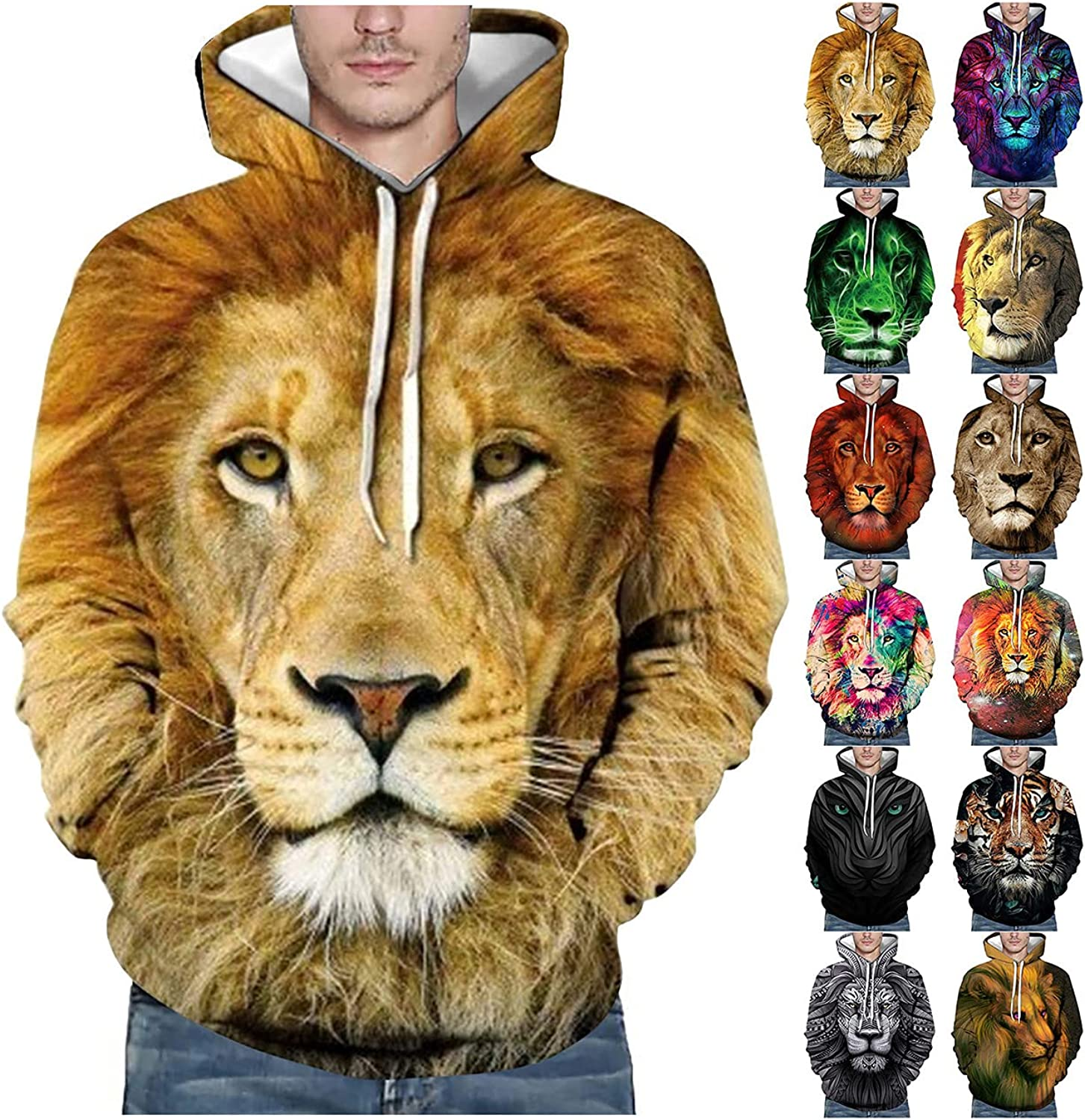 Hoodies for Men Tie Dye Hoodie 3D 2021 new Paint Special price for a limited time H Hip Printed Sweatshirt