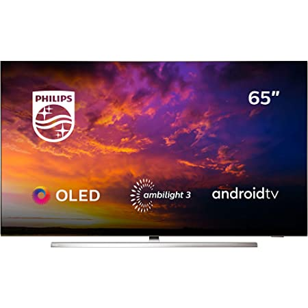 Philips 65OLED854/12 - Televisor Smart TV OLED 4K UHD, 65 Pulgadas, Android TV, Ambilight 3 Lados, HDR10+, Dolby Vision, Google Assistant, Compatible ...
