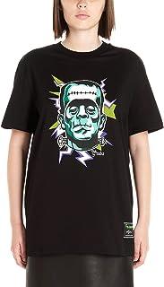 PRADA Women's 35838S1611U3GF088H Black Cotton T-Shirt
