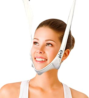 Pivit Deluxe Replacement Cervical Traction Kit Head Halter, One Size Fits All | Added Cushion For Comfort and Stretch-Resistance | Universal Compatibility | Hook And Loop Closures For Easy Application