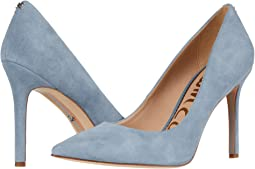 Smokey Blue Suede Leather