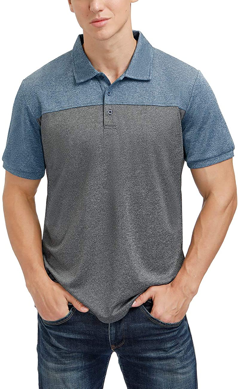 Men's Casual OFFicial Short Free Shipping Cheap Bargain Gift Sleeve Moisture Performance Polo Wicking Golf