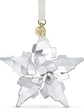 SWAROVSKI Christmas Ornament, 2021 Annual Edition, Large, Clear Crystal