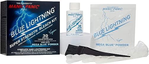 Best manic panic blue lightning bleach kit Reviews