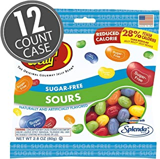 Sugar-Free Jelly Belly Sours Beans 2.1 Pound Case