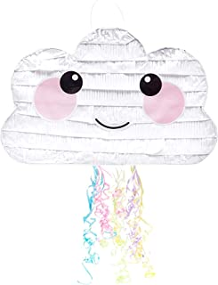 Cloud Pinata for Kids Birthday Party (16.5 x 10.5 in)