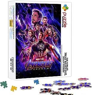 ASFDF 500 pièces Puzzle pour Adultes Avengers 500 pièces décoration Puzzle Jouets Cadeau Puzzle décoration Murale Enfants ...