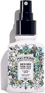 Poo-Pourri Before-You-Go Toilet Spray, Vanilla Mint Scent, 2 oz