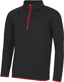 AWDis Just Cool Mens Half Zip Sweatshirt