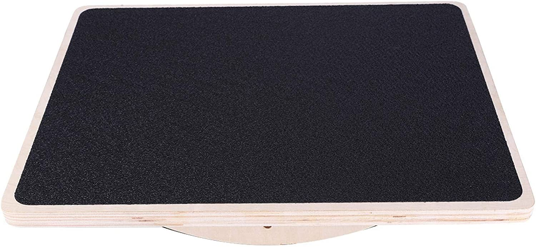 Auliuakz Balance Board,Wooden Fitness Balance Board Multifunctio