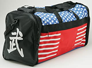 Taekwondo Sparring Gear Martial Arts Gear Equipment Bag Tae Kwon Do Karate MMA American Flag Big Bag 13