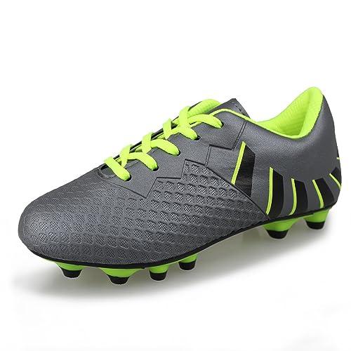 3b1cdd0aa Hawkwell Athletic Outdoor Indoor Comfortable Soccer Shoes(Toddler Little Kid  Big Kid