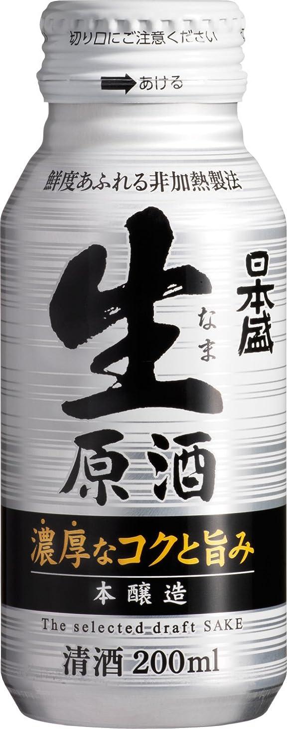 足首ハウジング大惨事日本盛 生原酒 本醸造 ボトル缶 [ 日本酒 兵庫県 200mlx30本 ]