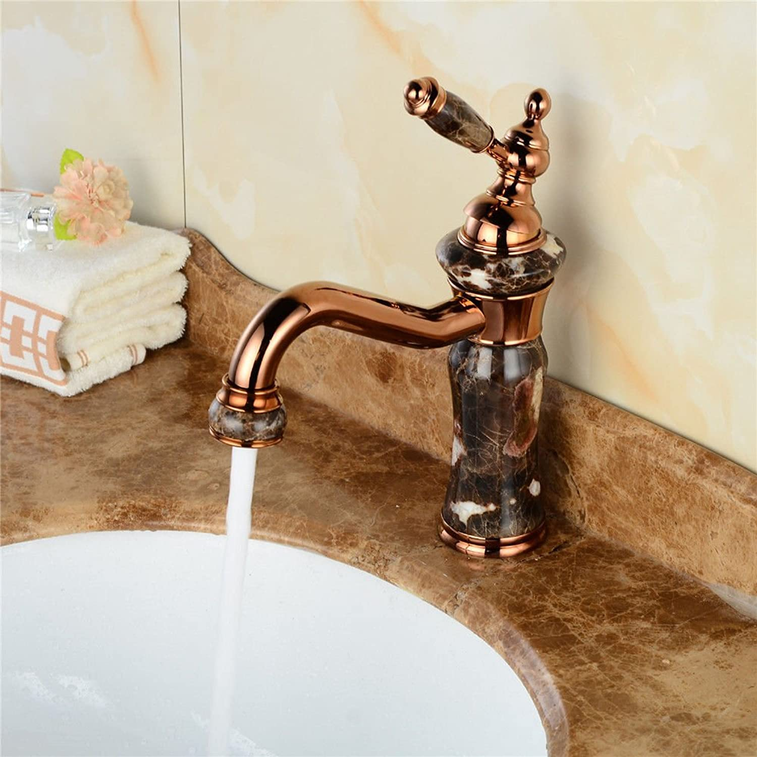 MulFaucet Faucet Water tap Taps Swivel Hoses gold European Retro All Copper Black hot and Cold Water Basin Bathroom Sink