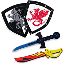 Super Z Outlet Children's Foam Toy Medieval Joust Dual Dragon Sword & Shield..