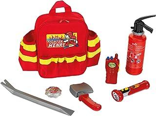 Klein 8900 Sac à dos de pompier   Avec lampe-torche, extincteur, etc.   Sac à dos robuste avec éléments réflecteurs et san...