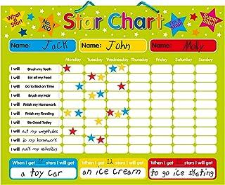 Magnetic Reward / Star / Responsibility / Behavior Chart for