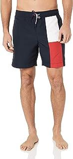 Tommy Hilfiger Men's Flag Stripe Swim Shorts Navy