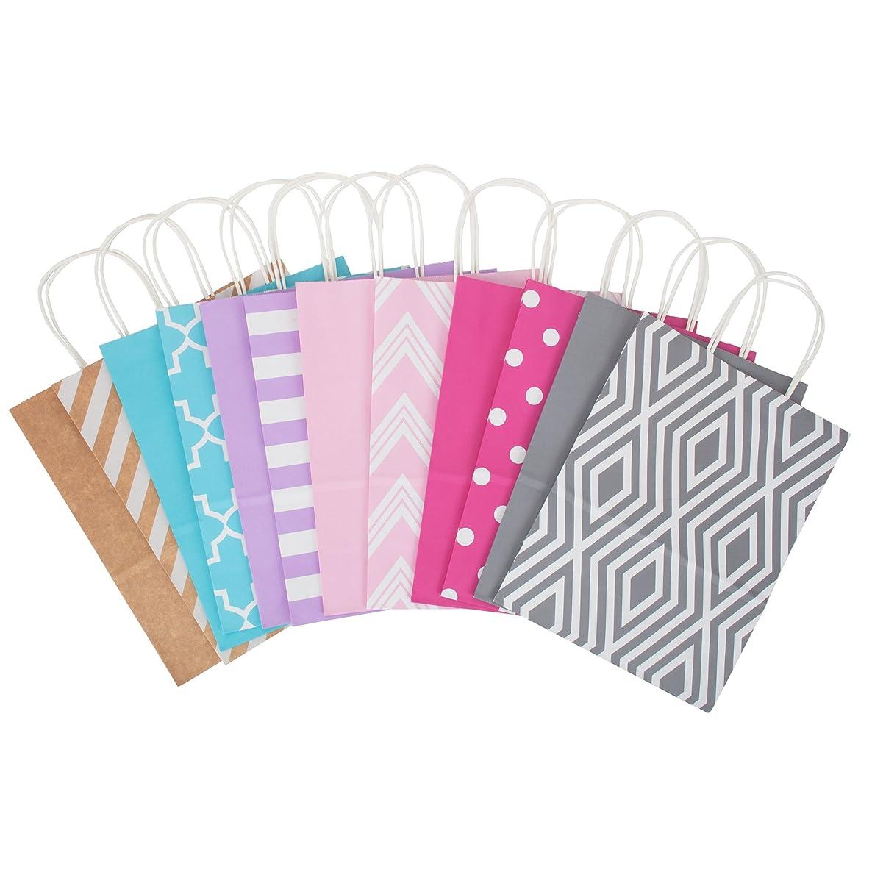 Hallmark Large Paper Gift Bag Assortment, Pastels (Pack of 12)
