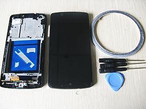 Weled Pantalla LCD de Repuesto + Marco para LG G5 H820/H850/LS992/VS987, Color Negro, con Herramientas y Adhesivo de Doble Cara