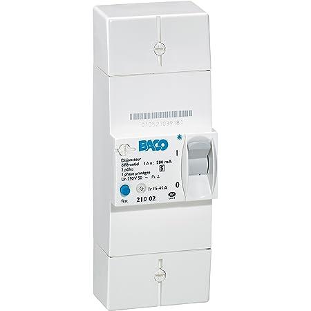 Disjoncteur de branchement EDF 2P 45A SDB II 500 45A S diff 500 mA Itron 400019 s/électif