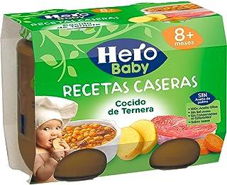 Hero Baby Recetas Caseras Cocido de Ternera Tarritos de Pur
