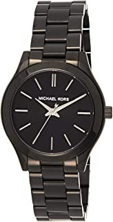 Michael Kors Womens Quartz Watch, Analog Display and Stainless Steel Strap MK3587