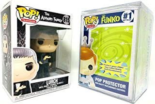 Funko Lurch 1960's Addams Family Pop Stacks Pop Protector Bundle