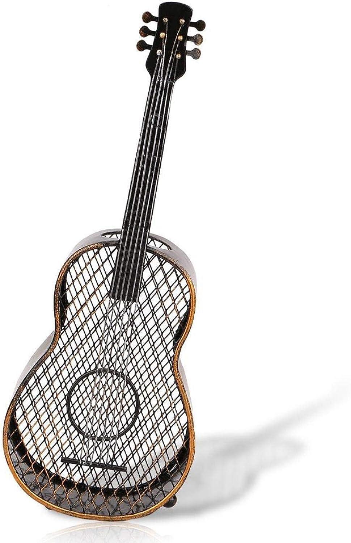 Soporte de Corcho de Vino Hierro en Forma de Guitarra Tapón de Vino Colector de Tapas Cerveza casera Organizador de Corcho Adorno de Metal Decoración Moderna Tapón de Botella de artesanía Contenedor
