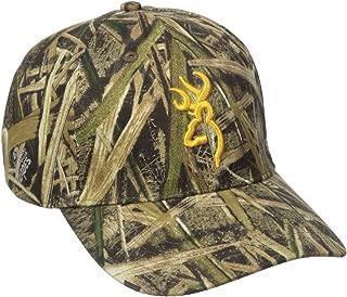 Browning Rimfire Camo 3D Buckmark Cap, Mossy Oak Shadow Grass Blades
