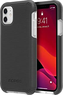 Incipio Aerolite Extreme Drop Protection Case for Apple iPhone 11 with Advanced Impact Resistant Design - Black/Clear