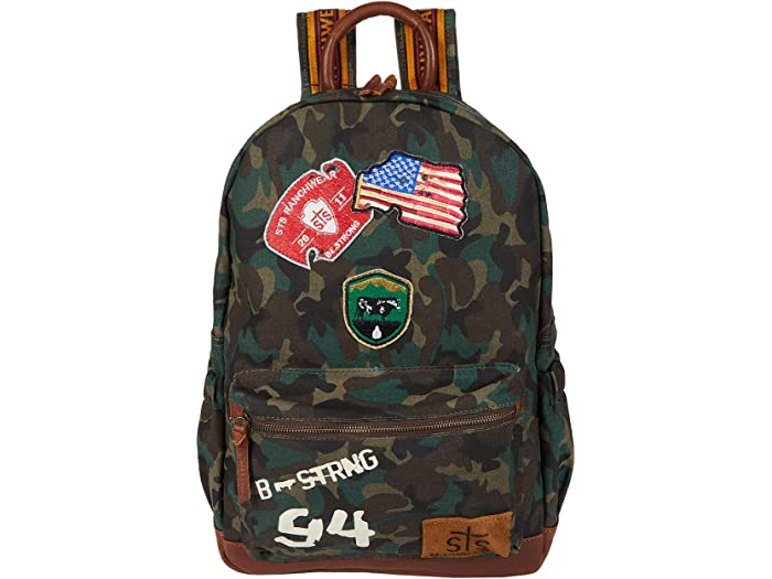 STS Ranchwear Camo Backpack