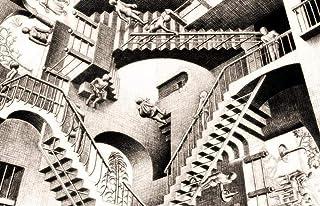 XXMT Rompecabezas De 1000 Piezas Puzzle De Relatividad-por-MC-Escher