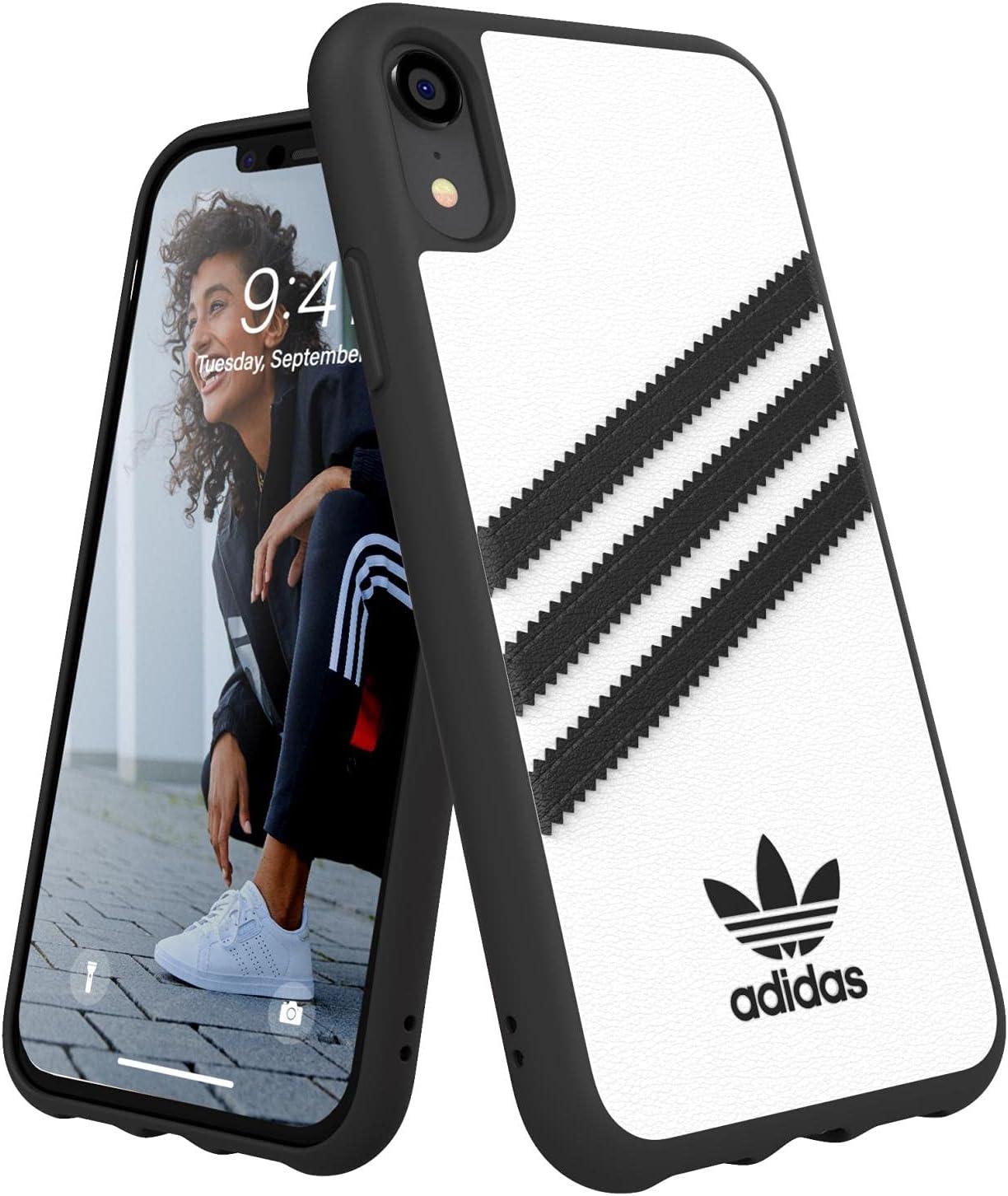 Adidas Originals Coque iPhone XR Molded Blanc/Noir