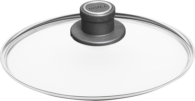 4.7-Quart Woll Nowo Titanium Saut/é Casserole Pan with Side Handles and Lid