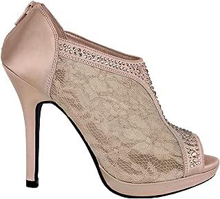 Best peep toe lace heels Reviews