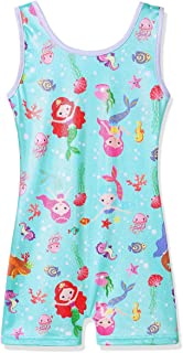 BAOHULU Big Girls' One-piece Ballet Dancing Gymnastics Thigh Length Tank