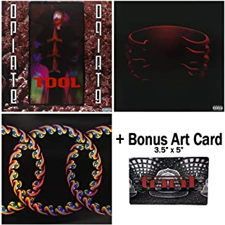 Tool: Vinyl Record Collection - 3 Albums (Opiate / Undertow / Lateralus) + Bonus Art Card
