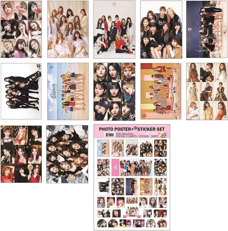 IDOLPARK Kpop (BTS Twice Blackpink Seventeen) New 12 Posters + 1