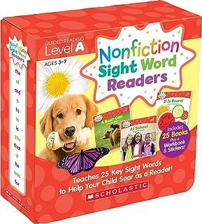 小さくてコンパクト ノンフィクションサイトワードリーダーレベルA、3〜7歳:あなたを助けるために25の主要なサイトワードを教えます。