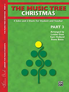 The Music Tree Christmas: 4 Solos and 2 Duets for Student an