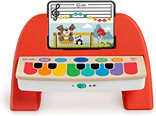 Baby Einstein Hape Cal's First Melodies Magic Touch Piano, 3 Partitions, 6 Melodies, 6 Months and up